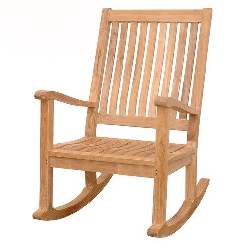 ... Furniture ... Wood Patio Rocking Chairs & Gliders Anderson Teak SKU