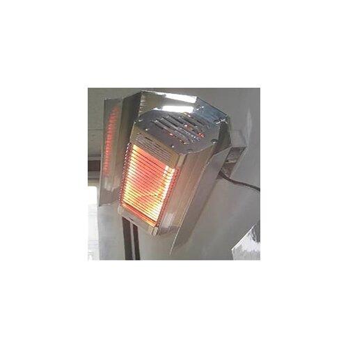 fire sense 1500 watt electric mounted patio heater
