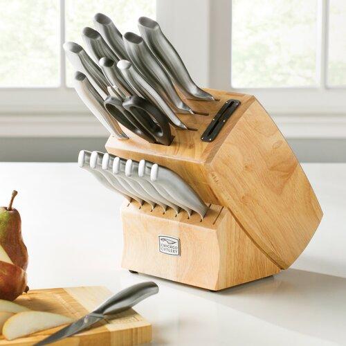 chicago cutlery chicago 19 piece knife set reviews wayfair