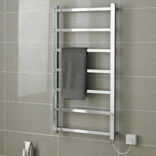 Towel Heaters For Sale: Hudson Reed Eton Wall Mount Electric Heated Towel Rail