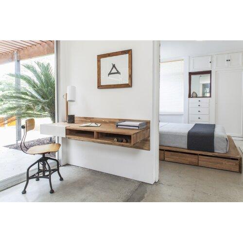 Lax series storage platform bed reviews allmodern for Mash studios lax