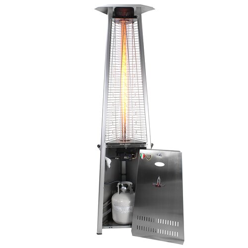 Lava Heat Triangular Commercial Flame 66 000 Btu Patio