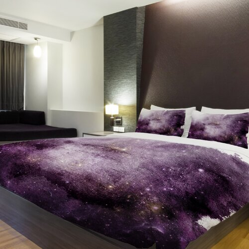 One Bella Casa Galaxy Dreams Multi Duvet Cover Wayfair