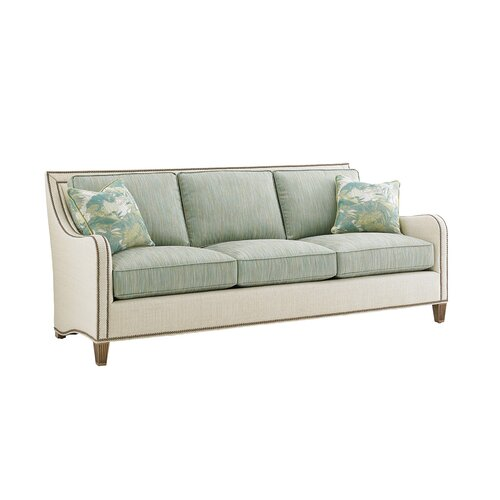 Twin Palms Apartments: Tommy Bahama Home Twin Palms Leather Sofa