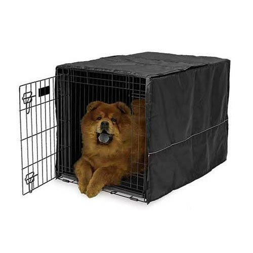 how to make dog quiet in crate