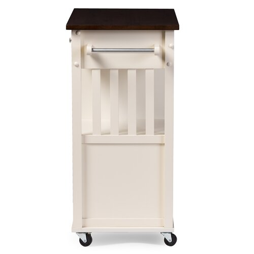 Wholesale Interiors Bradford Serving Cart Reviews: Wholesale Interiors Baxton Studio Justin Bar Cart