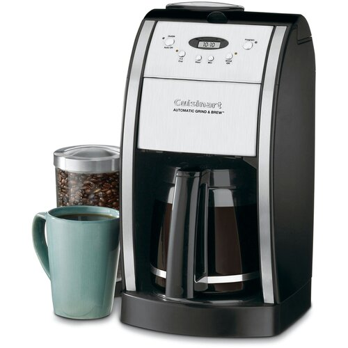 Cuisinart Coffee Maker Amps : Cuisinart Grind & Brew 12 Cup Automatic Coffee Maker & Reviews Wayfair