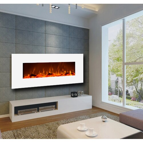 Zipcode™ Design Wall Mount Electric Fireplace - Zipcode™ Design Wall Mount Electric Fireplace & Reviews Wayfair