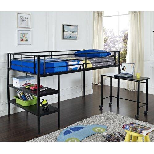 home loft concepts twin loft bed