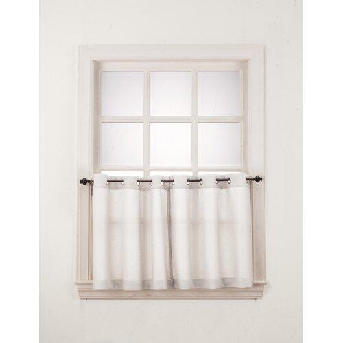No 918 Montego Grommet Window Tier Set Amp Reviews Wayfair