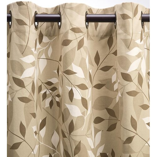 Plow Amp Hearth Leaves Thermal Blackout Curtain Panels