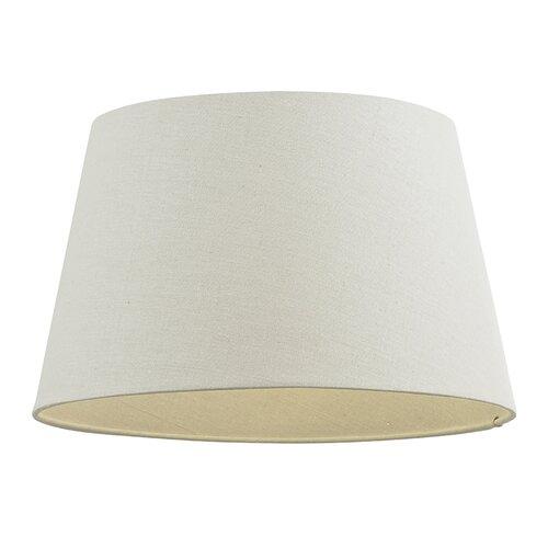 35.5 cm Trommel-Lampenschirm aus Stoff