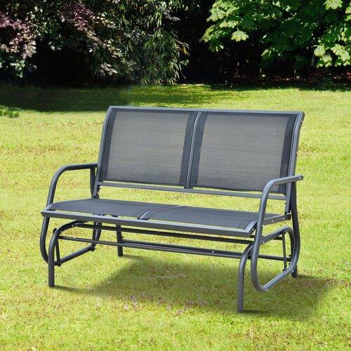Outsunny Gartenbank Swing aus Aluminium & Bewertungen ...
