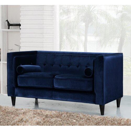 Meridian furniture usa taylor velvet loveseat reviews for J furniture usa reviews