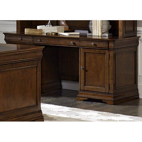 Darby Home Co Grunewald Executive Desk Amp Reviews Wayfair