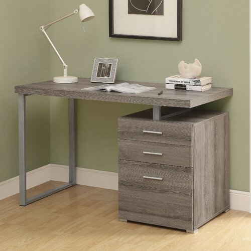 Pascua 3 Space Storage Drawers Computer Desk Amp Reviews