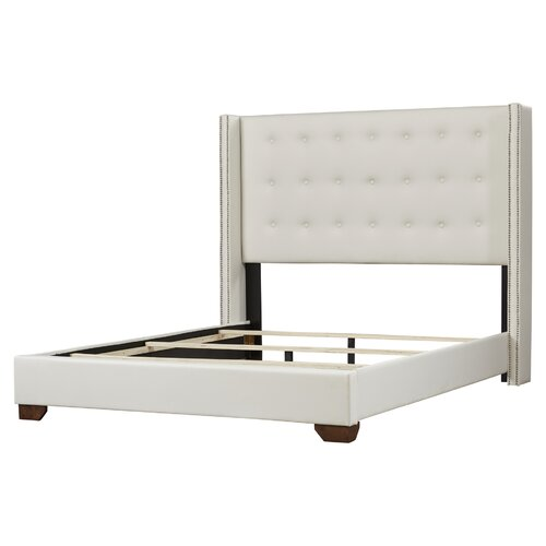 Arno Upholstered Panel Bed Amp Reviews Allmodern