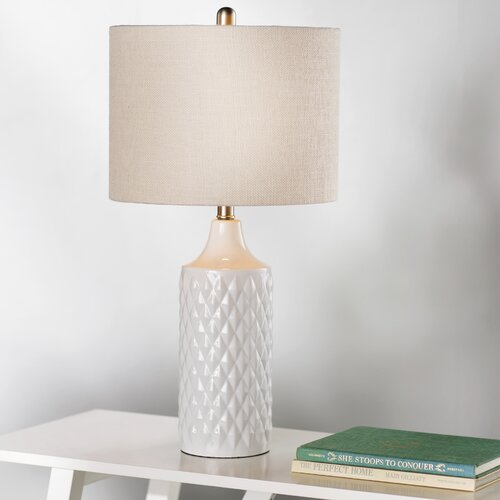beachcrest home melbourne beach 26 6 table lamp reviews wayfair