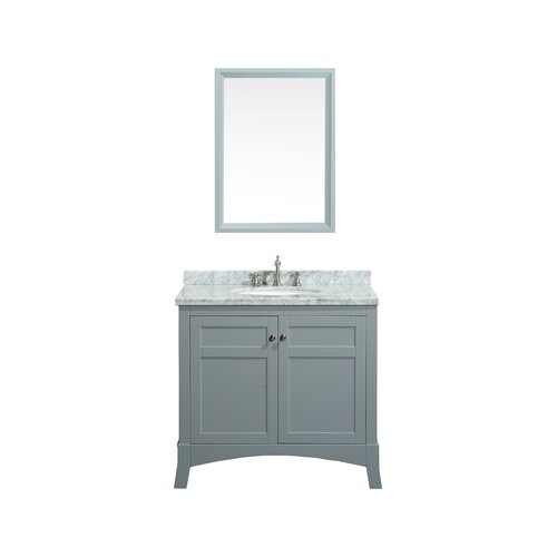 eviva new york 36 single bathroom vanity set