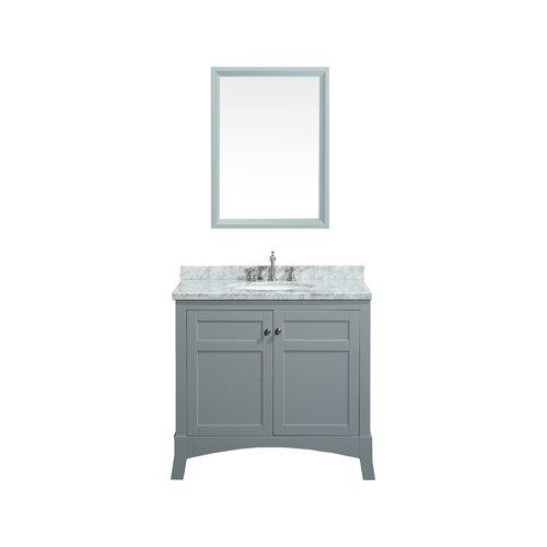 eviva new york 36 single bathroom vanity set