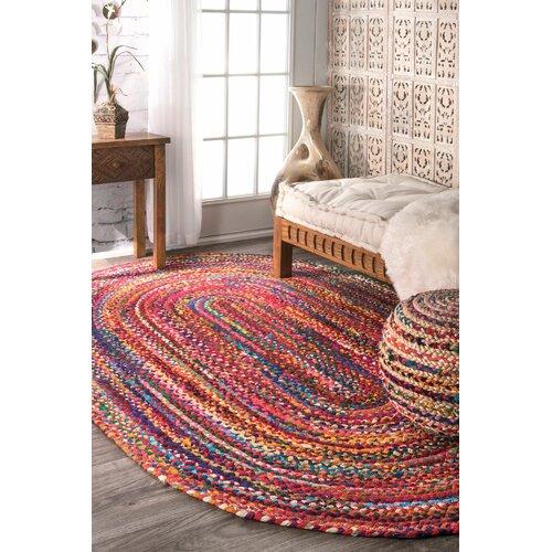 Braided Area Rug Home Decor
