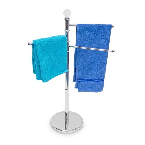 Bathroom hand towel stand