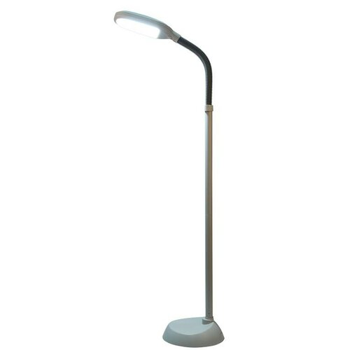 natural daylight full spectrum 60 led task floor lamp by latitude run. Black Bedroom Furniture Sets. Home Design Ideas