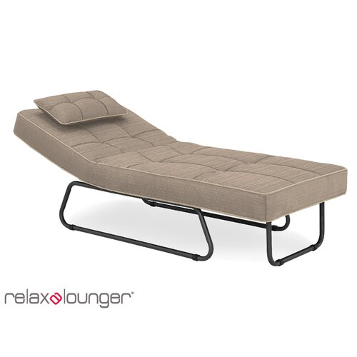 Latitude run andrew outdoor convertible chaise lounge with for Chaise convertible