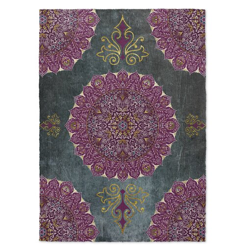 Kavka Ellis Green Purple Indoor Outdoor Area Rug Amp Reviews