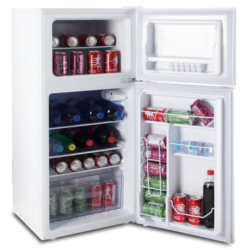 5 0 Cu Ft Mini Fridge: Della 4.5 Cu. Ft. Compact Refrigerator With Double Door & Reviews