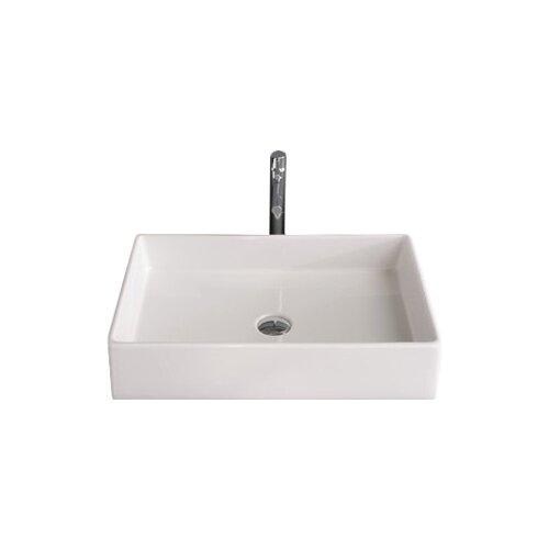 teorema rectangular vessel bathroom sink reviews allmodern
