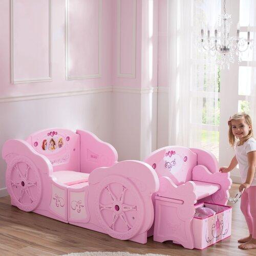 delta children disney princess carriage twin convertible