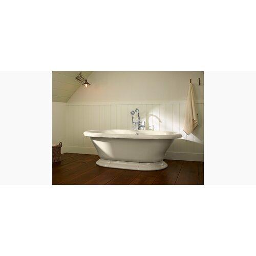 Kohler Kelston Floor Mount Bath Filler With Hand Shower