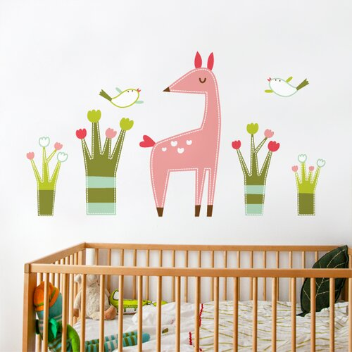 how to put up a backsplash in the kitchen piccolo the fawn wall decal allmodern 9929