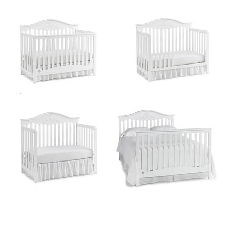 Fisher Price Mia 4 In 1 Convertible Crib Amp Reviews Wayfair