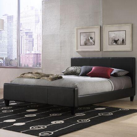 euro complete platform upholstered bed