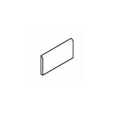 "Sandalo 6"" x 2"" Surface Bullnose Tile Trim in Raffia Noce (Set of 4)"