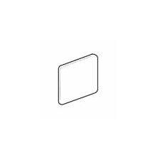 """Sandalo 6"""" x 6"""" Surface Bullnose Corner Tile Trim in Castillian Gray (Set of 3)"""