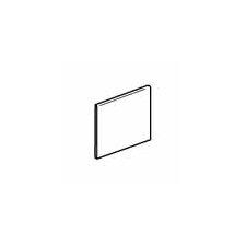 """Sandalo 6"""" x 6"""" Surface Bullnose Tile Trim in Serene White (Set of 3)"""