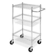Tier Commerical Basket Utility Cart