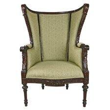 Louis XVI Wingback Chair