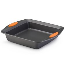 Yum-O Nonstick Square Cake Pan  Rachael Ray