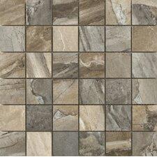 "Eurasia 2"" x 2/13"" x 13"" Porcelain Mosaic Tile in Blend"