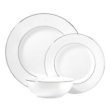 Artemis Bone China 3 Piece Place Setting, Service for 1