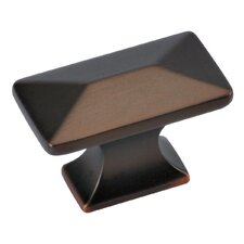 Bungalow Rectangle Novelty Knob