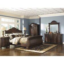 North Shore Sleigh Customizable Bedroom Set