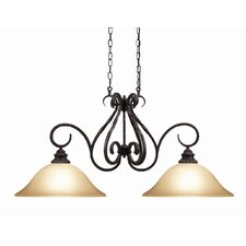 Rosedale 2-Light Kitchen Pendant Light