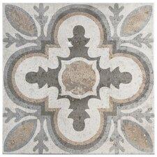 "Ardisana 13.13"" x 13.13"" Ceramic Patterned/Field Tile in Gray/Brown"
