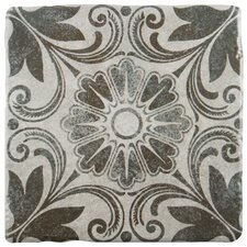 "Diego 7.75"" x 7.75"" Ceramic Field Tile in Cendra"