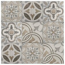 "Ardisana 13.13"" x 13.13"" Ceramic Field Tile in Jet Mix"
